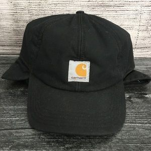 Carhartt Quick Duck Black Insulated Hat